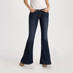 Current/Elliott Jeans - Current Elliott The Low Bell In Voyage NWT